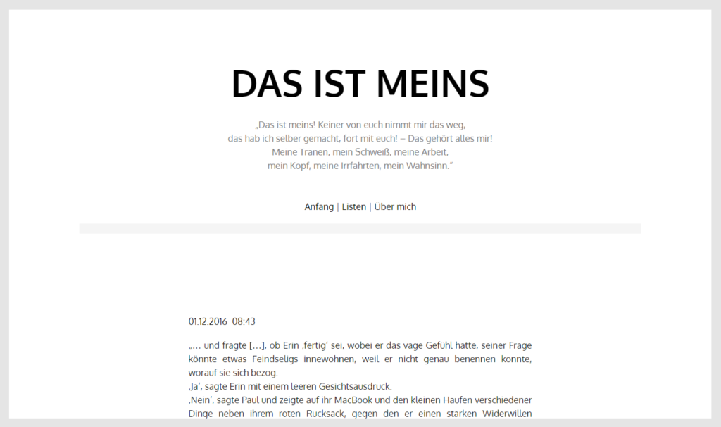 dasistmeins.com