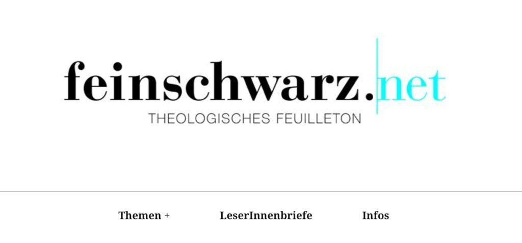 feinschwarz.net - theologisches Feuilleton